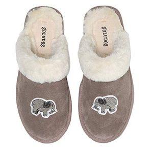 Soludos elephant slippers NWT